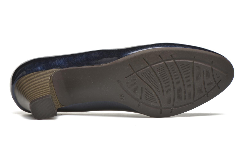 Pumps Jana shoes Anis blau ansicht von oben