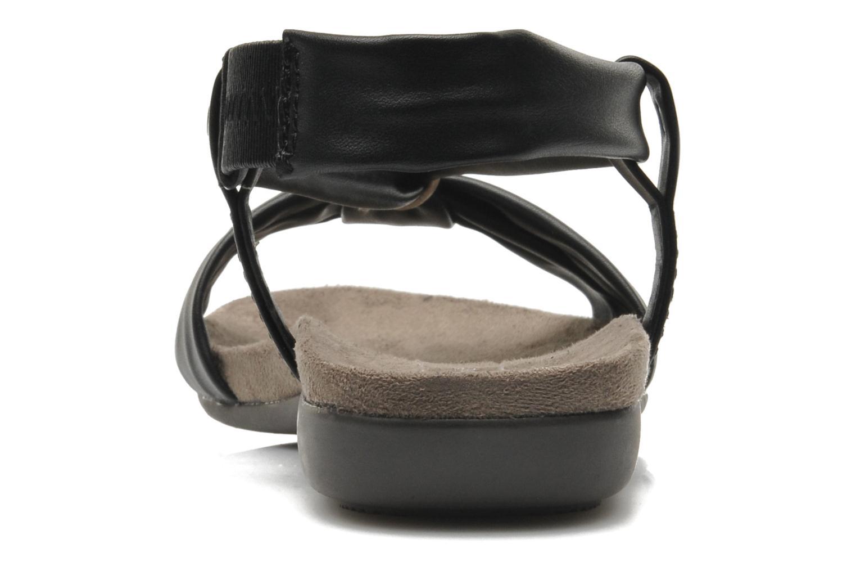 Sandales et nu-pieds Jana shoes Jana Noir vue droite