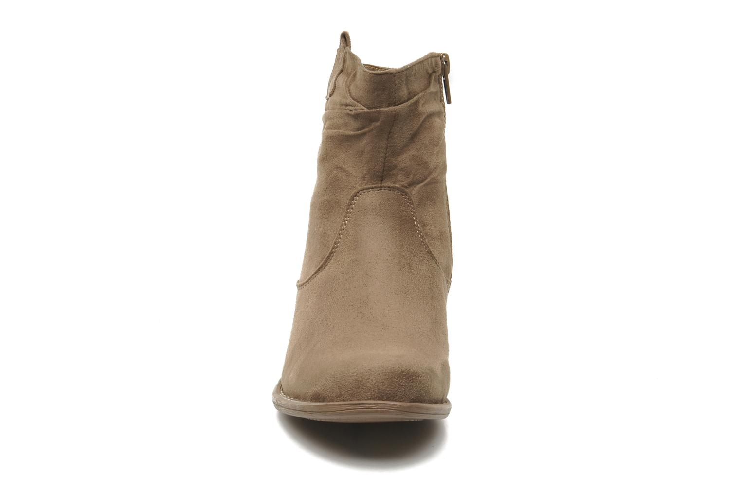 Ankle boots I Love Shoes Thiroir Beige model view