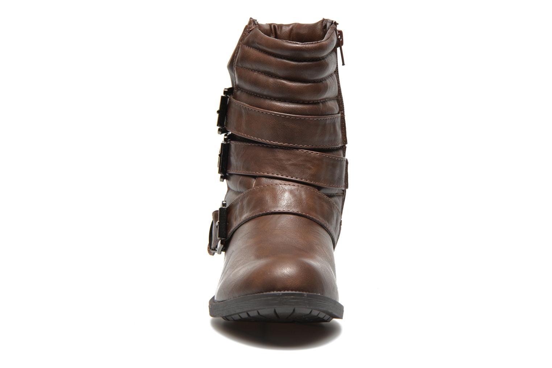 Bottines et boots Divine Factory D-stars Marron vue portées chaussures