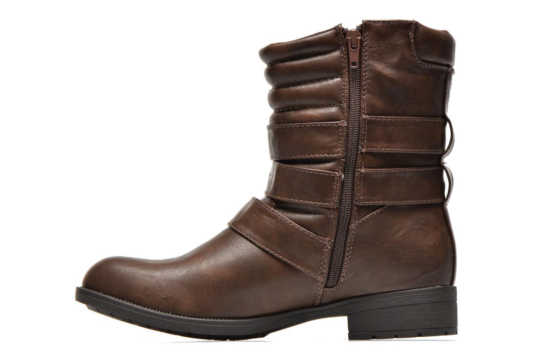 Boots en enkellaarsjes Divine Factory D-stars Bruin voorkant
