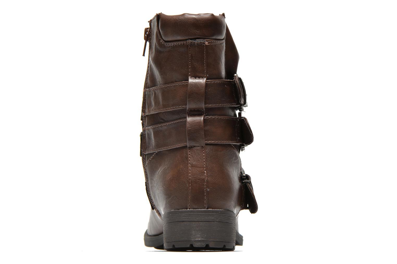 Bottines et boots Divine Factory D-stars Marron vue droite