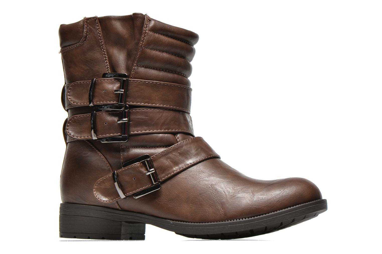 Boots en enkellaarsjes Divine Factory D-stars Bruin achterkant