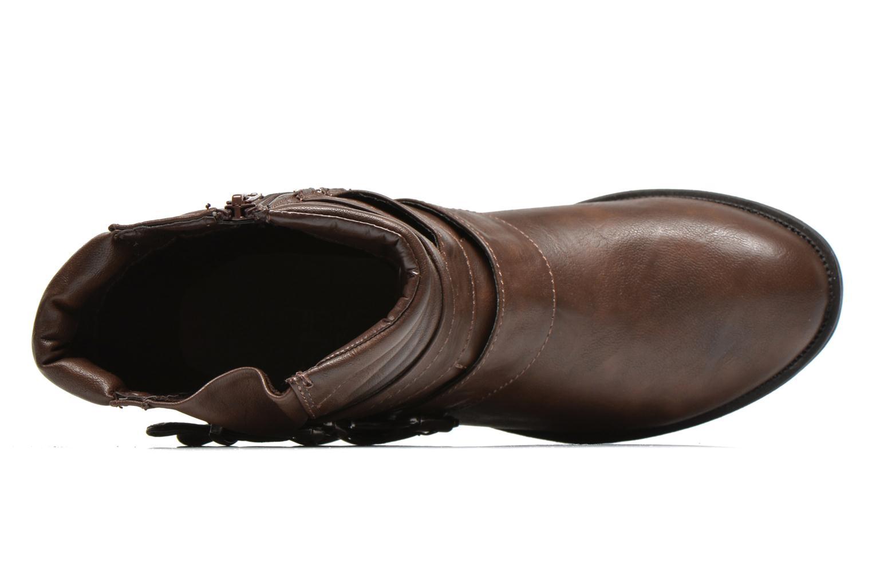 Boots en enkellaarsjes Divine Factory D-stars Bruin links