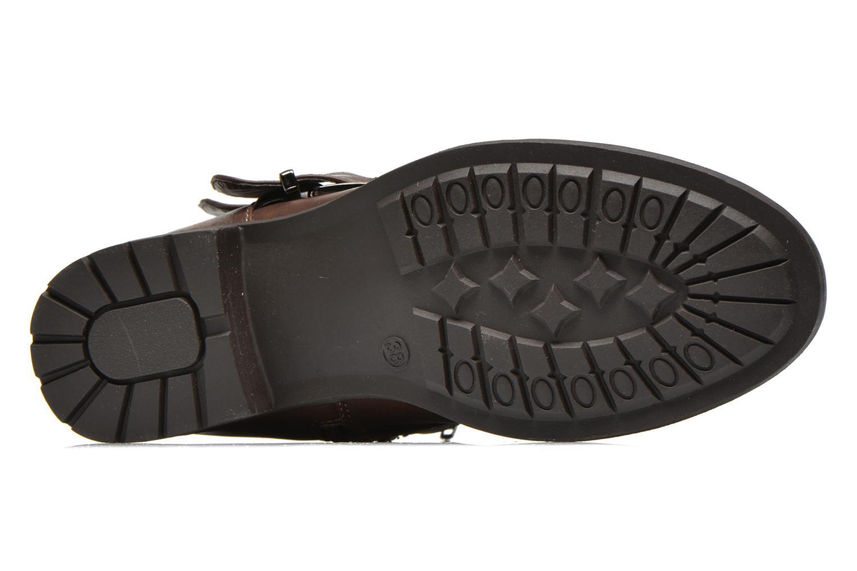 Bottines et boots Divine Factory D-stars Marron vue haut