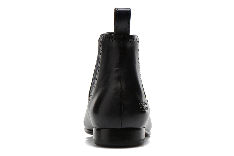 Bottines et boots Melvin & Hamilton Sally 16 Bleu vue droite
