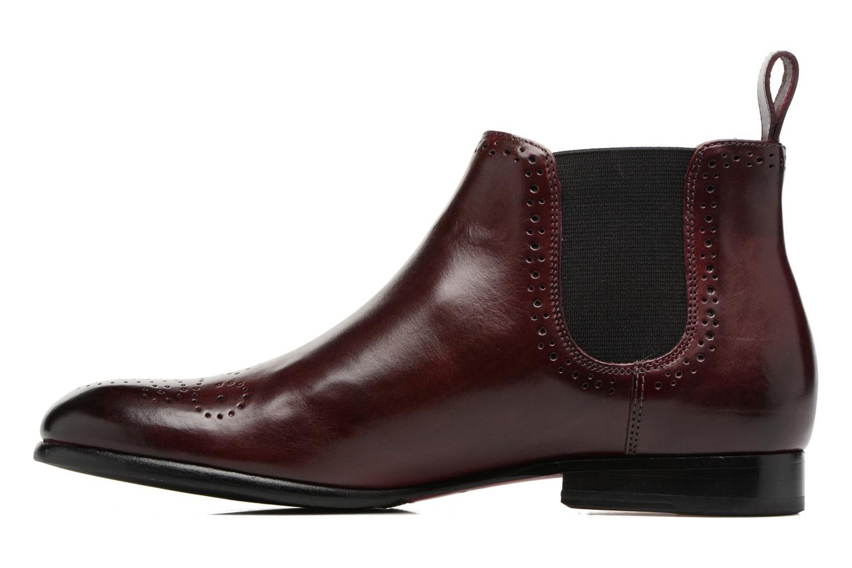 Bottines et boots Melvin & Hamilton Sally 16 Bordeaux vue face