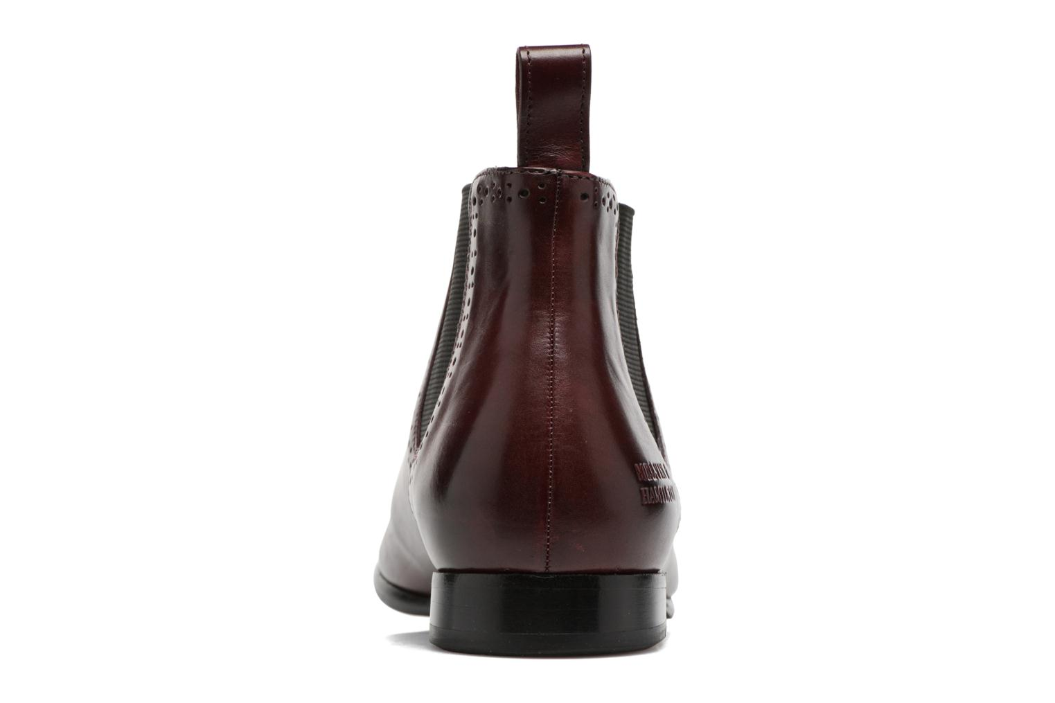 Ankle boots Melvin & Hamilton Sally 16 Burgundy view from the right