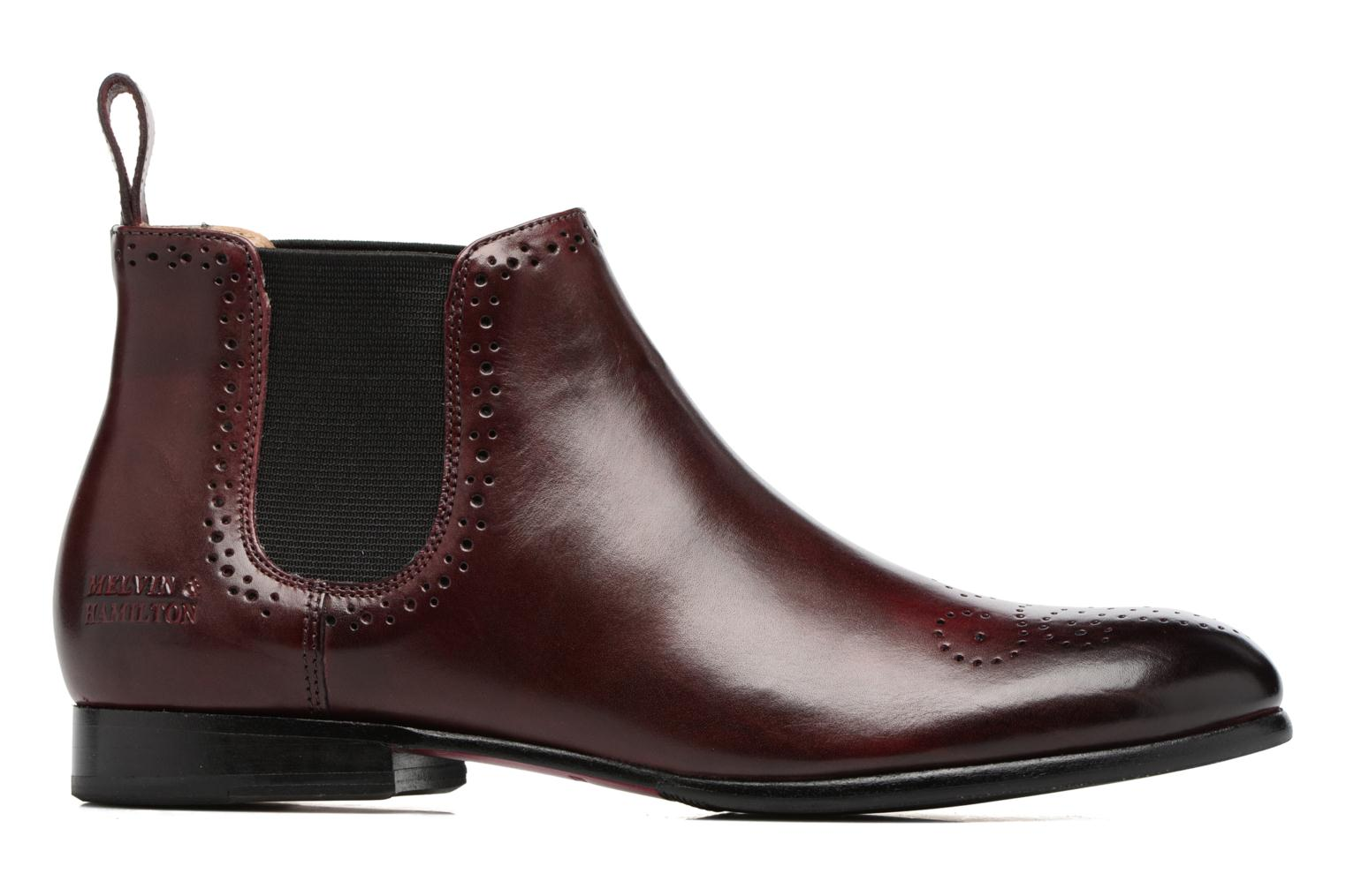Ankle boots Melvin & Hamilton Sally 16 Burgundy back view