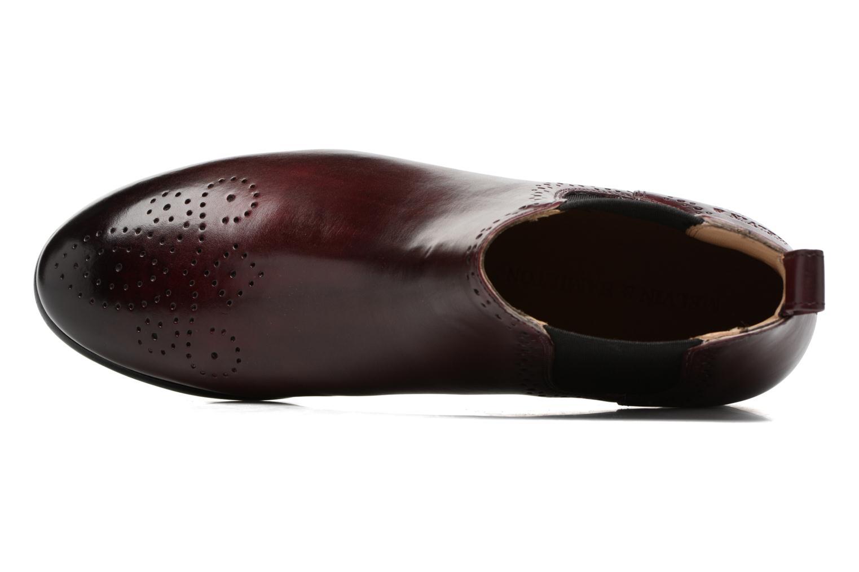 Bottines et boots Melvin & Hamilton Sally 16 Bordeaux vue gauche