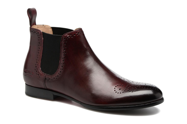 Ankelstøvler Melvin & Hamilton Sally 16 Bordeaux detaljeret billede af skoene