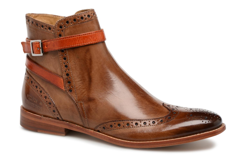 Melvin & Hamilton Amelie 11 (Marron) - Bottines et boots chez Sarenza (321405)