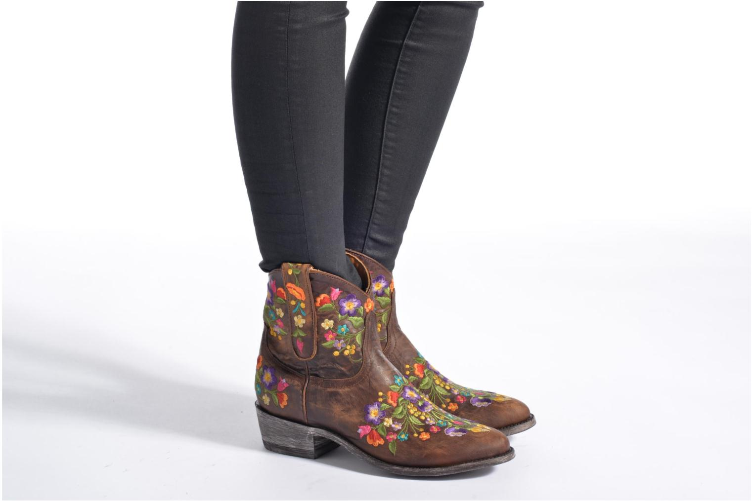 Ankle boots Mexicana Sorazipper Multicolor view from underneath / model view