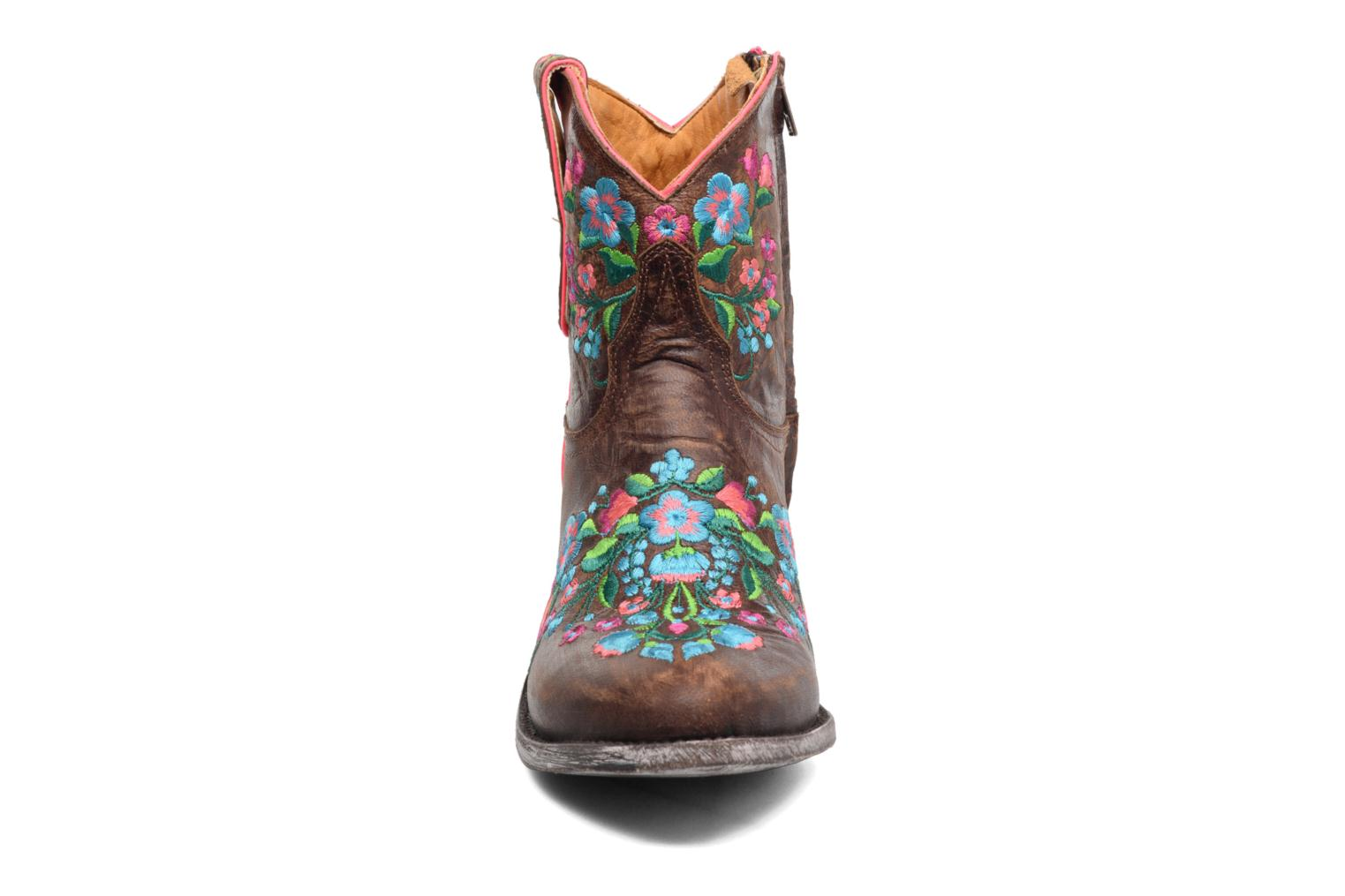 Boots en enkellaarsjes Mexicana Sorazipper Multicolor model