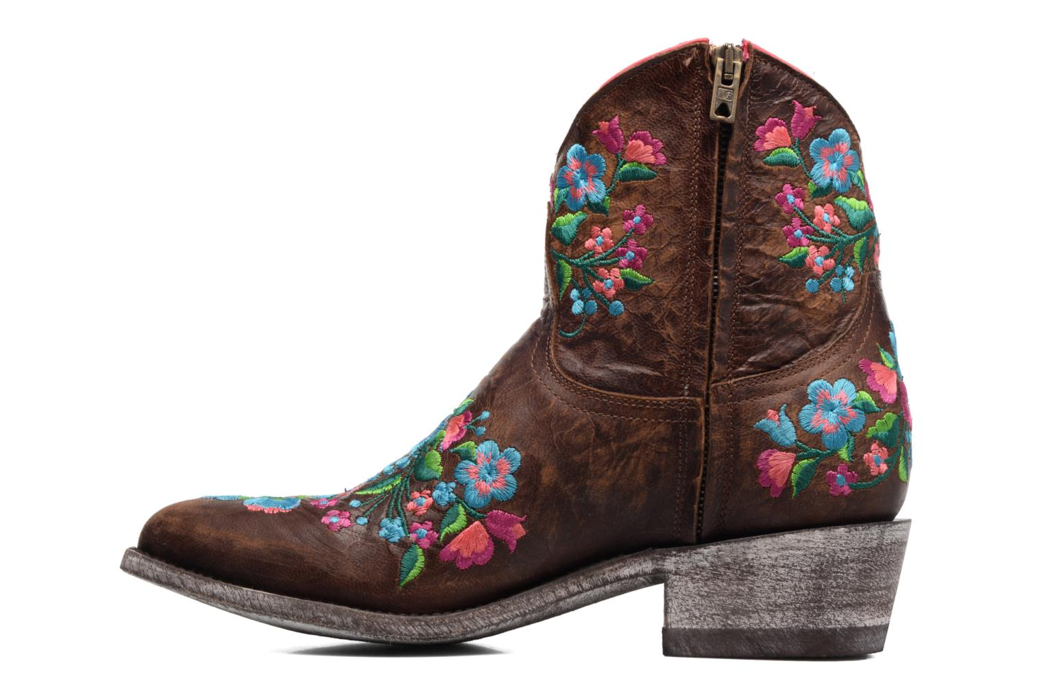 Ankle boots Mexicana Sorazipper Multicolor front view