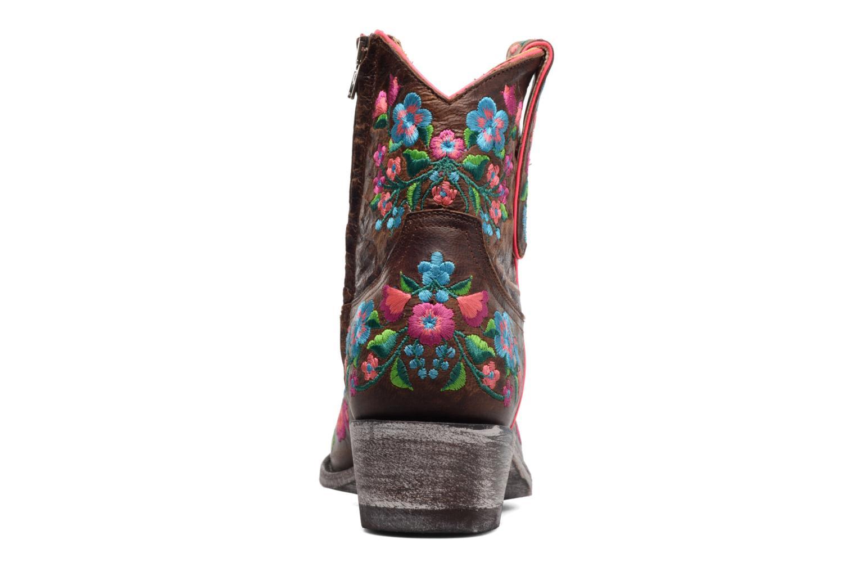 Boots en enkellaarsjes Mexicana Sorazipper Multicolor rechts