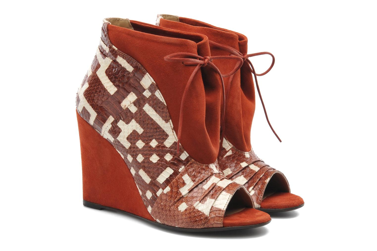 Ankle boots MySuelly Julie2 Brown 3/4 view