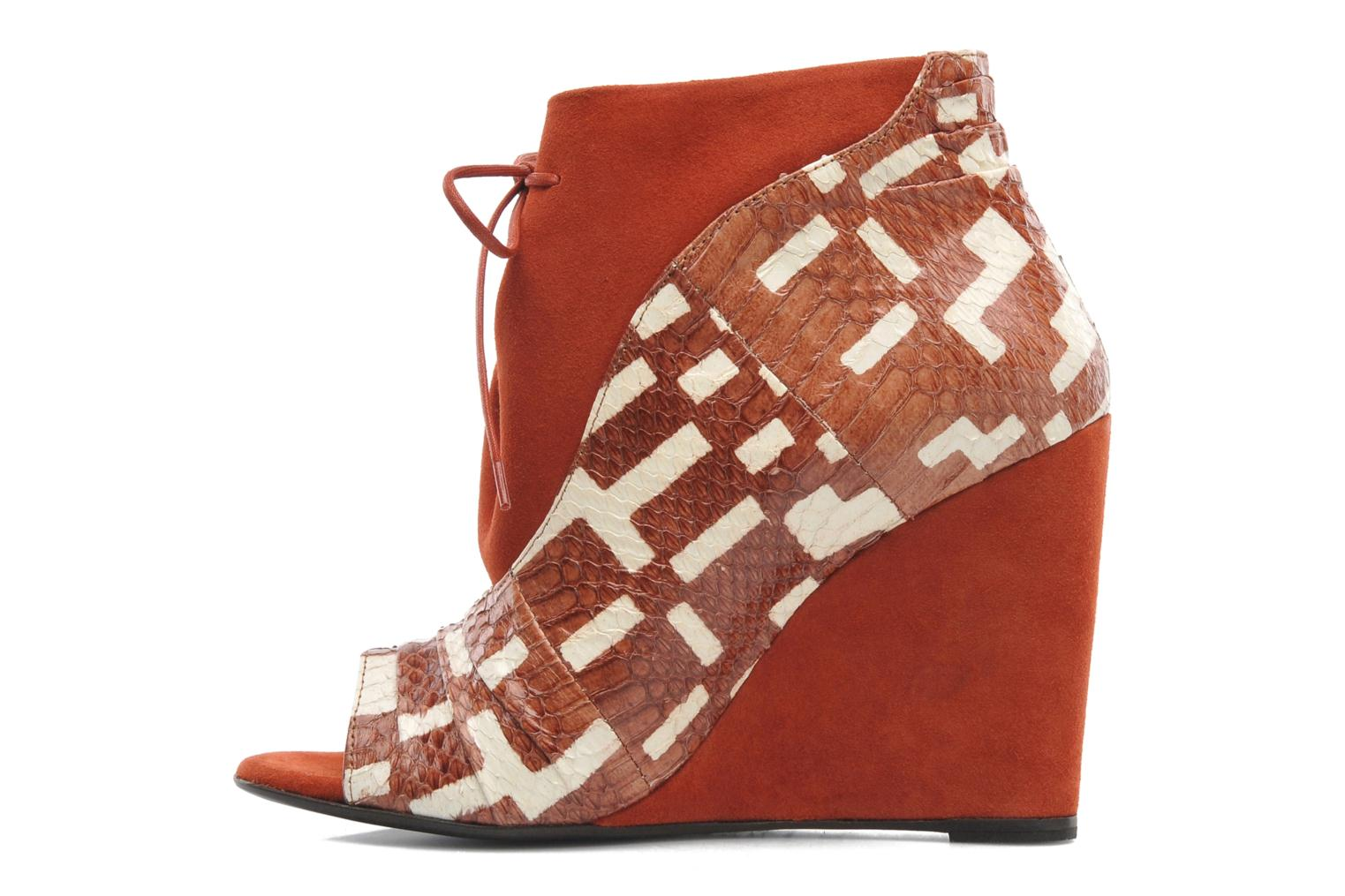 Ankle boots MySuelly Julie2 Brown front view