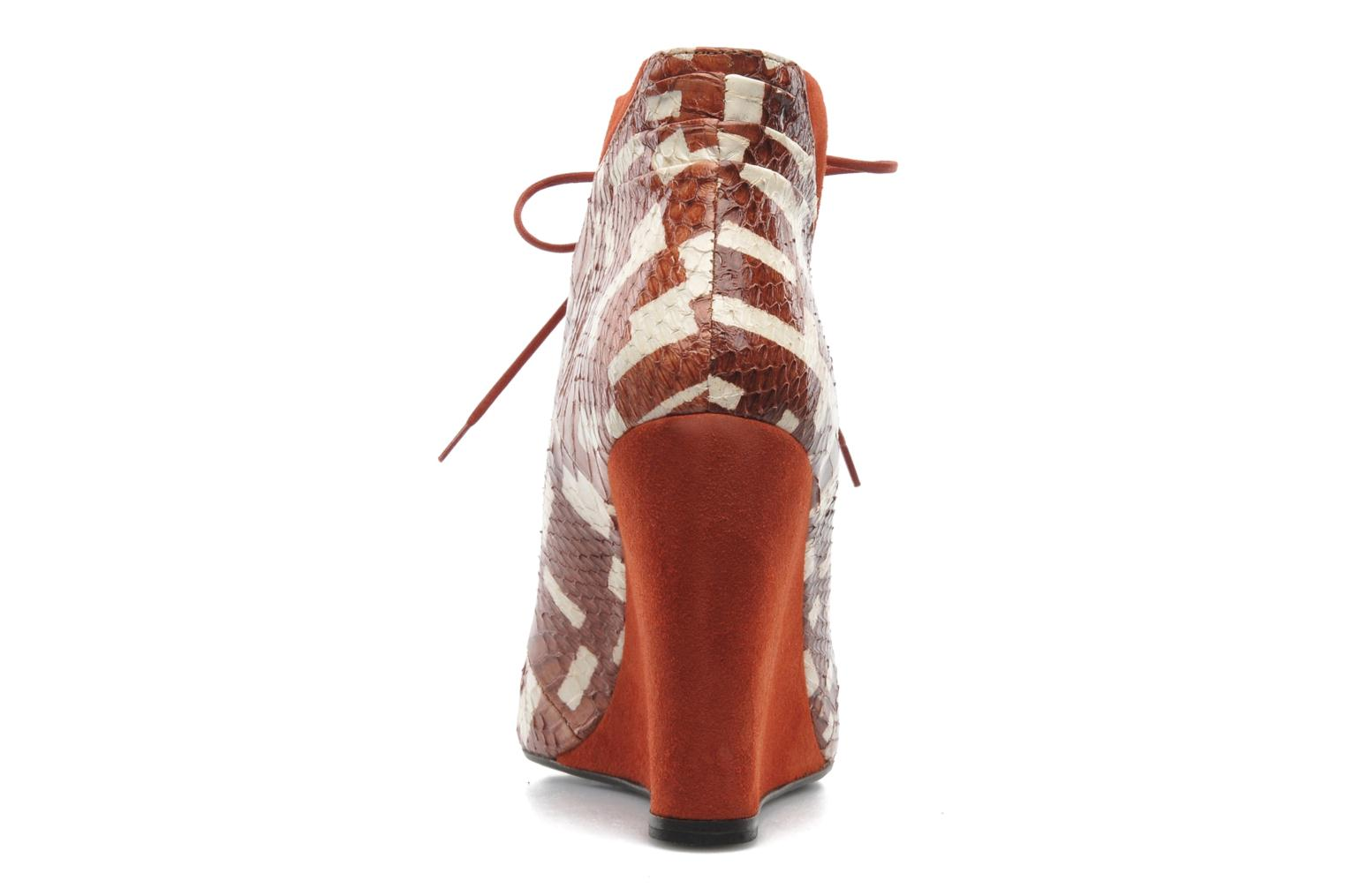 Ankle boots MySuelly Julie2 Brown view from the right