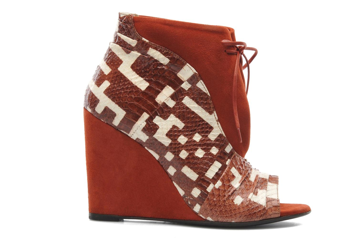 Ankle boots MySuelly Julie2 Brown back view