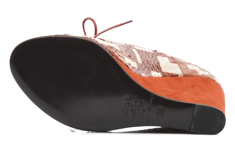 Stiefeletten & Boots MySuelly Julie2 braun ansicht von oben