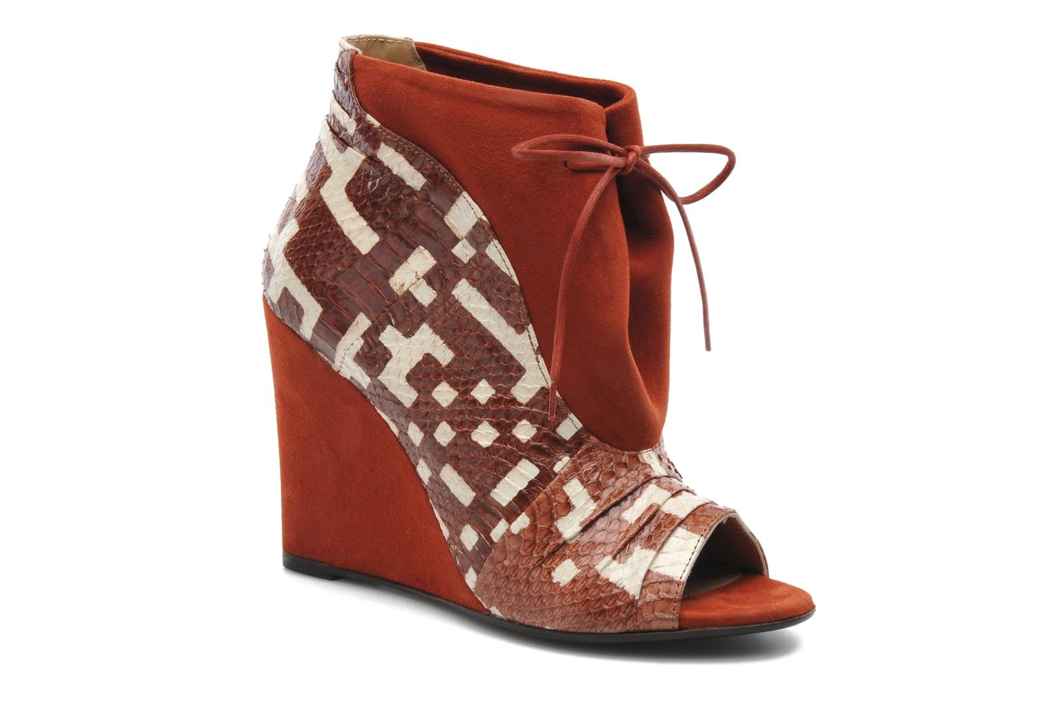 Ankle boots MySuelly Julie2 Brown detailed view/ Pair view