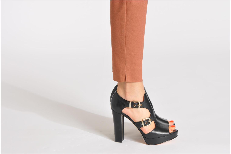 Sandales et nu-pieds Liu Jo Sandale Marianne II Noir vue bas / vue portée sac