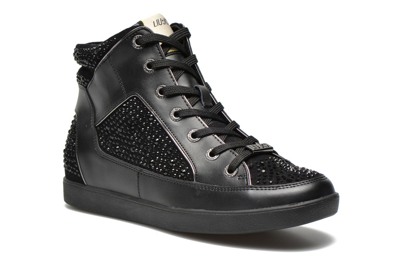 Baskets Liu Jo Sneaker Alta Aura Noir vue détail/paire