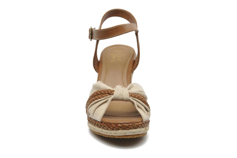 Sandales et nu-pieds I Love Shoes Sukifo Beige vue portées chaussures