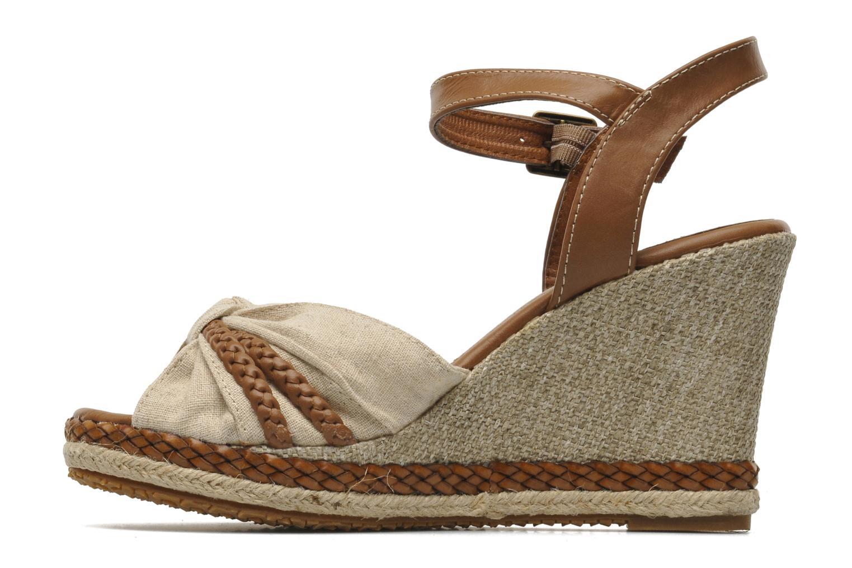 Sandales et nu-pieds I Love Shoes Sukifo Beige vue face