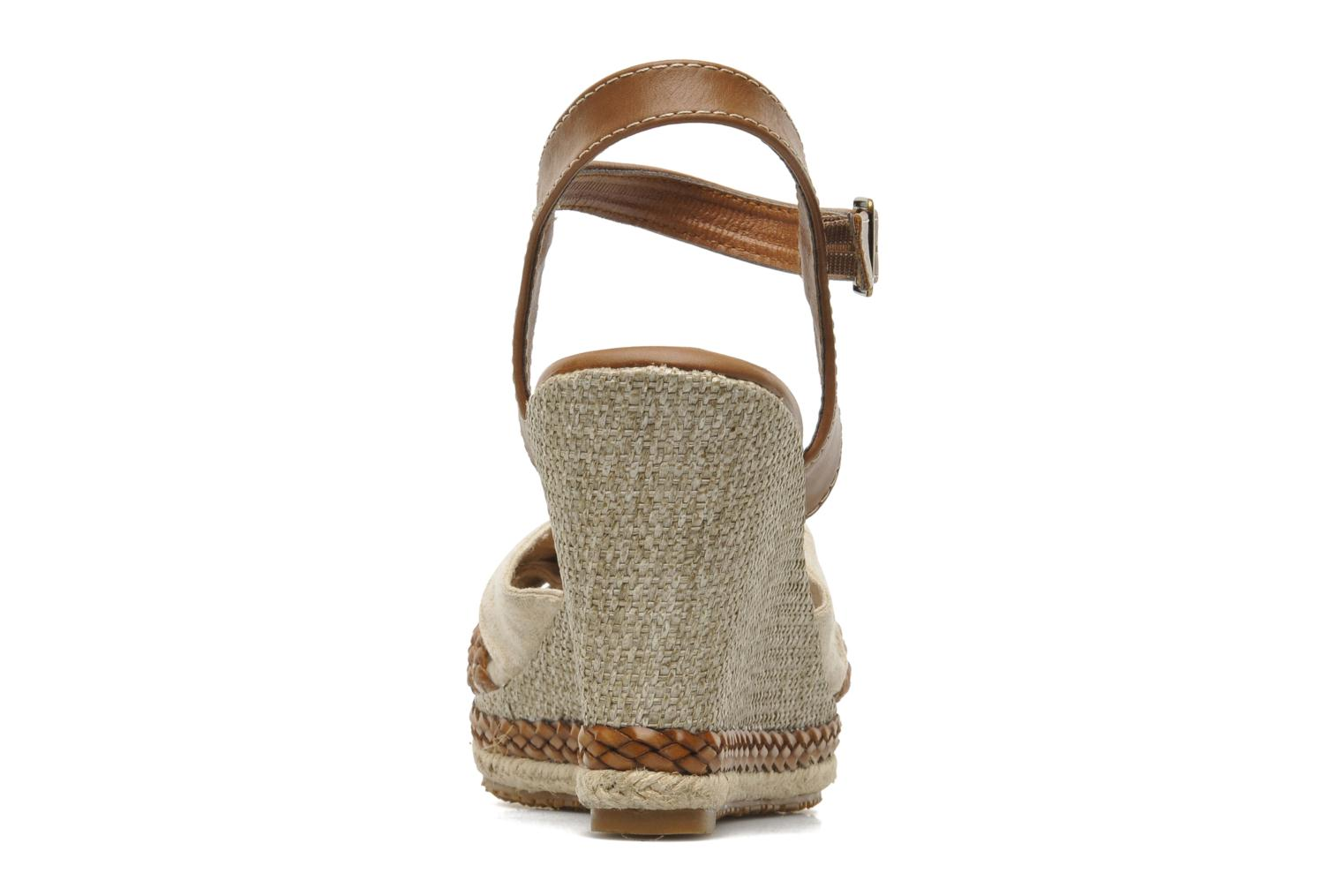 Sandals I Love Shoes Sukifo Beige view from the right