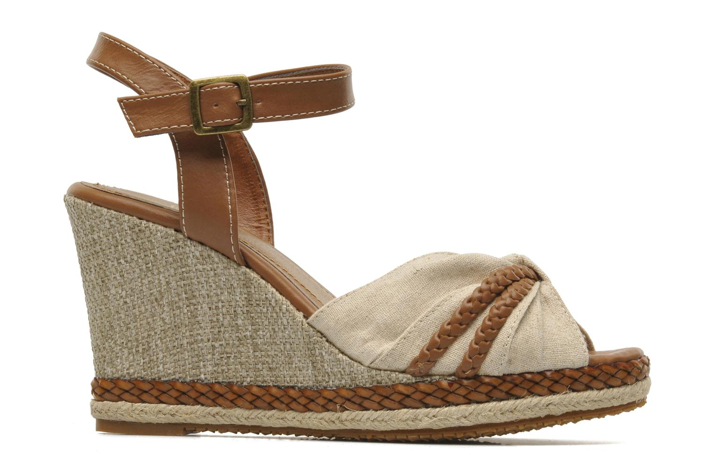 Sandals I Love Shoes Sukifo Beige back view