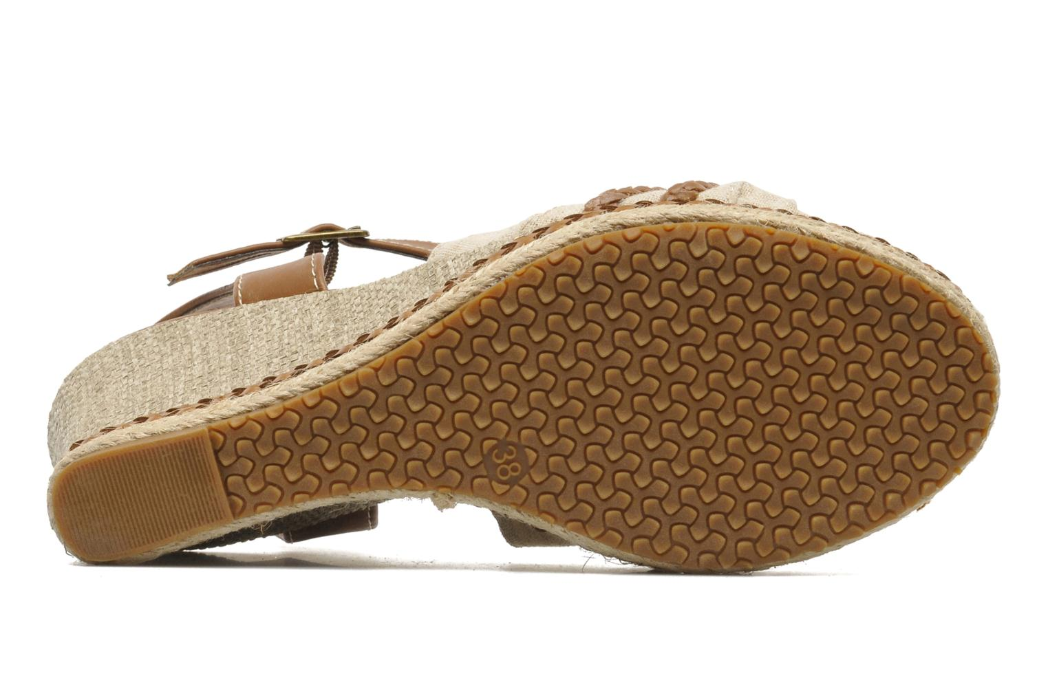Sandals I Love Shoes Sukifo Beige view from above