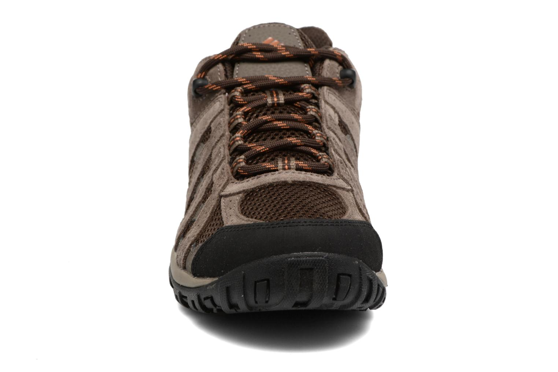 Zapatillas de deporte Columbia Redmond Marrón vista del modelo