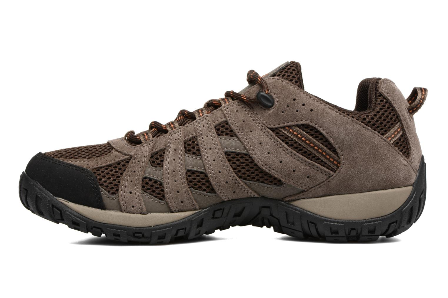 Sport shoes Columbia Redmond Brown front view