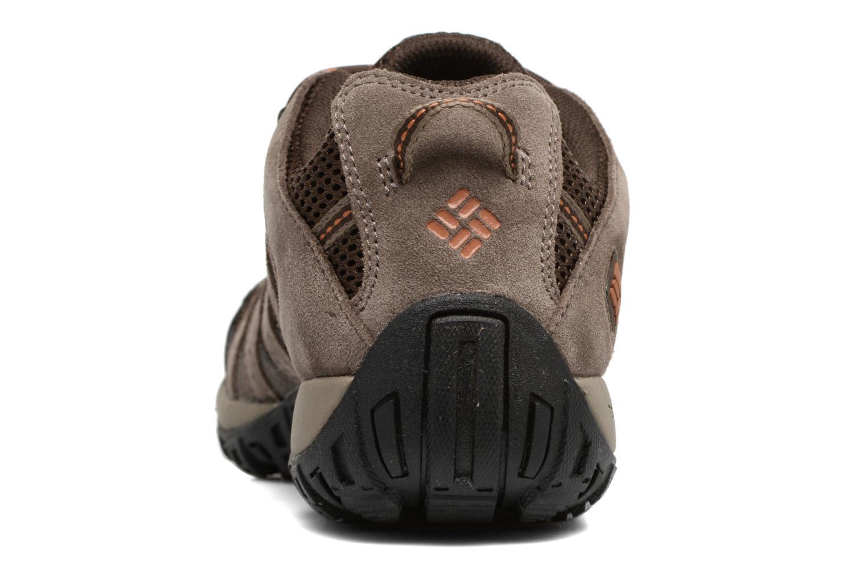 Chaussures de sport Columbia Redmond Marron vue droite