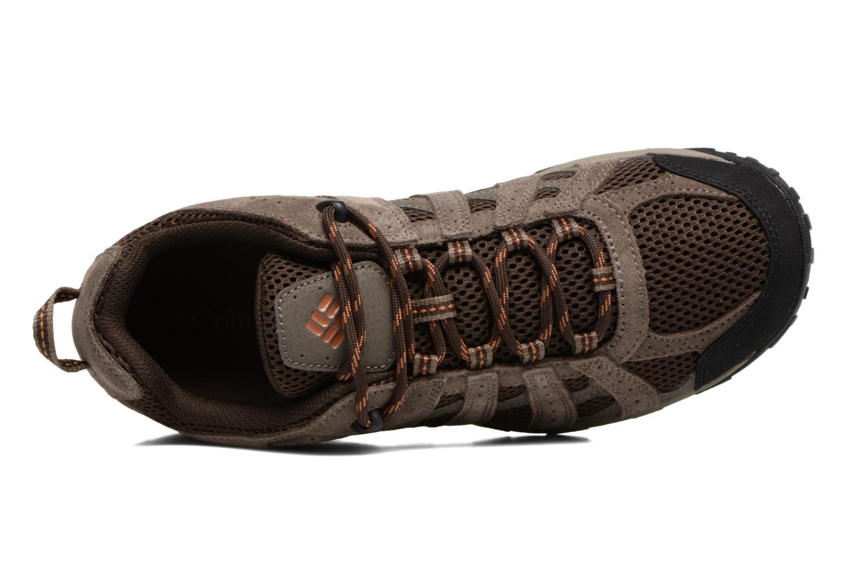 Zapatillas de deporte Columbia Redmond Marrón vista lateral izquierda
