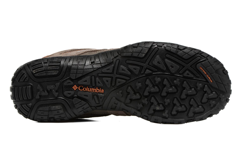 Chaussures de sport Columbia Redmond Marron vue haut