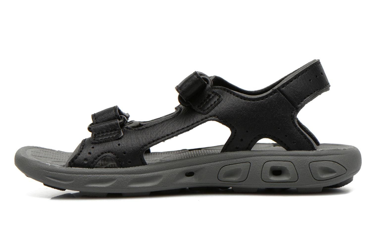 Sandals Columbia Childrens Techs Black front view
