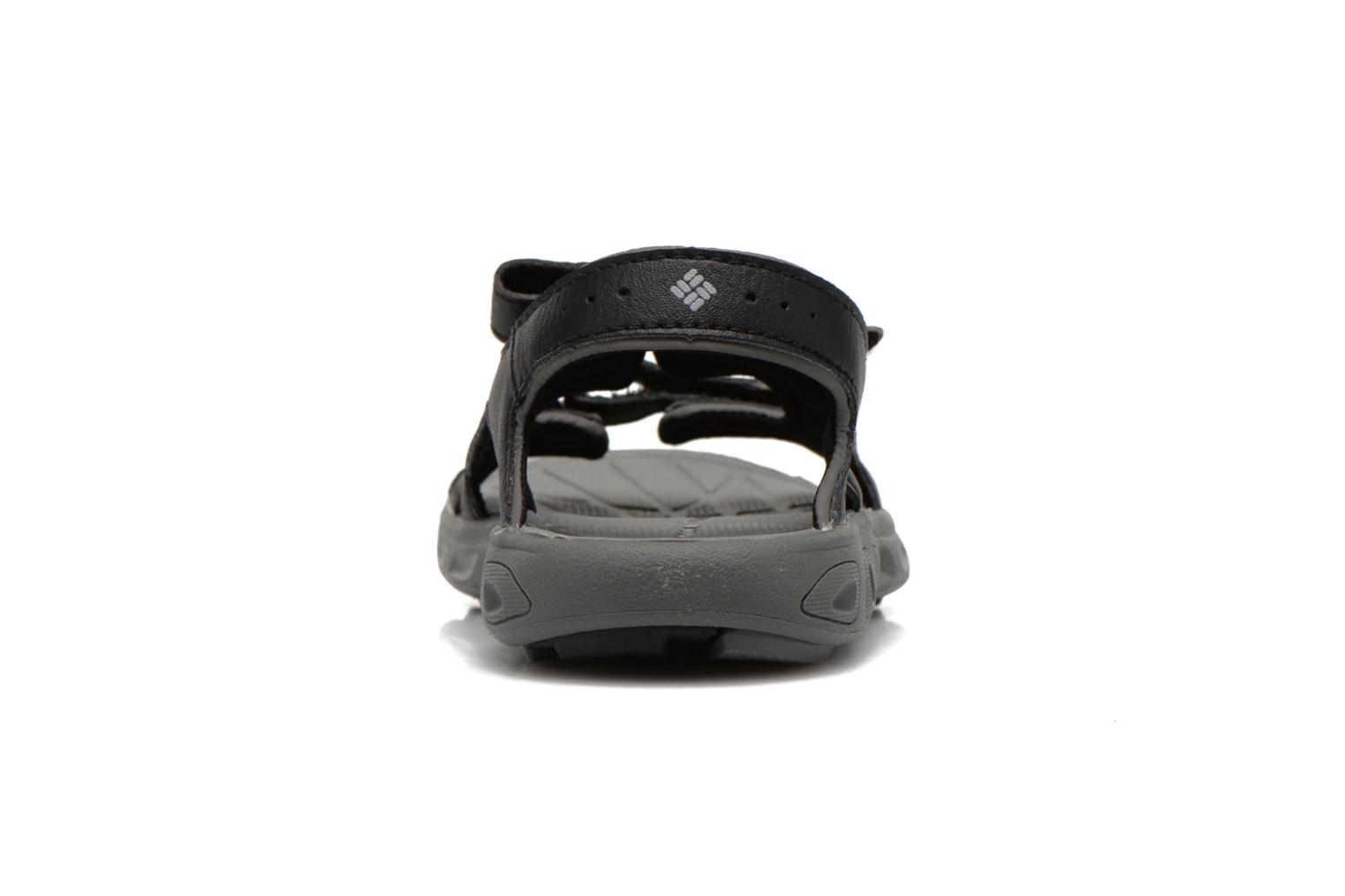 Sandals Columbia Childrens Techs Black view from the right