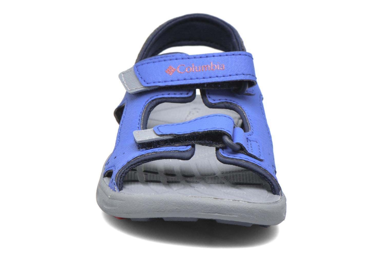 Sandales et nu-pieds Columbia Childrens Techs Bleu vue portées chaussures