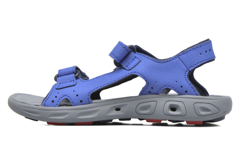 Sandalen Columbia Childrens Techs blau ansicht von vorne
