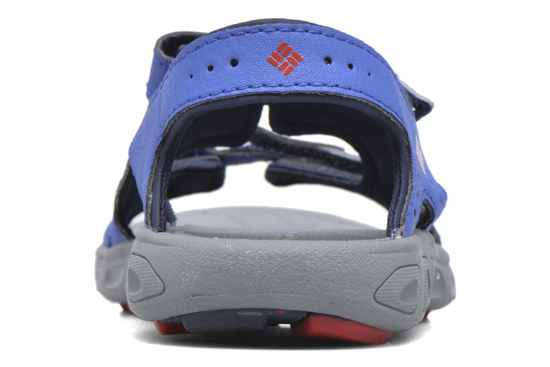 Sandalen Columbia Childrens Techs blau ansicht von rechts