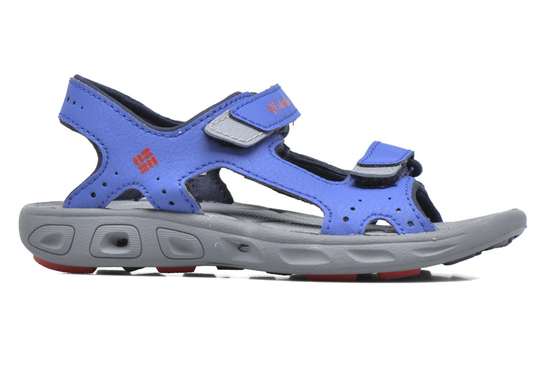 Sandalen Columbia Childrens Techs blau ansicht von hinten