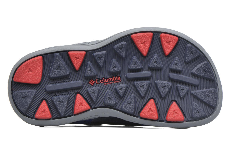 Sandales et nu-pieds Columbia Childrens Techs Bleu vue haut