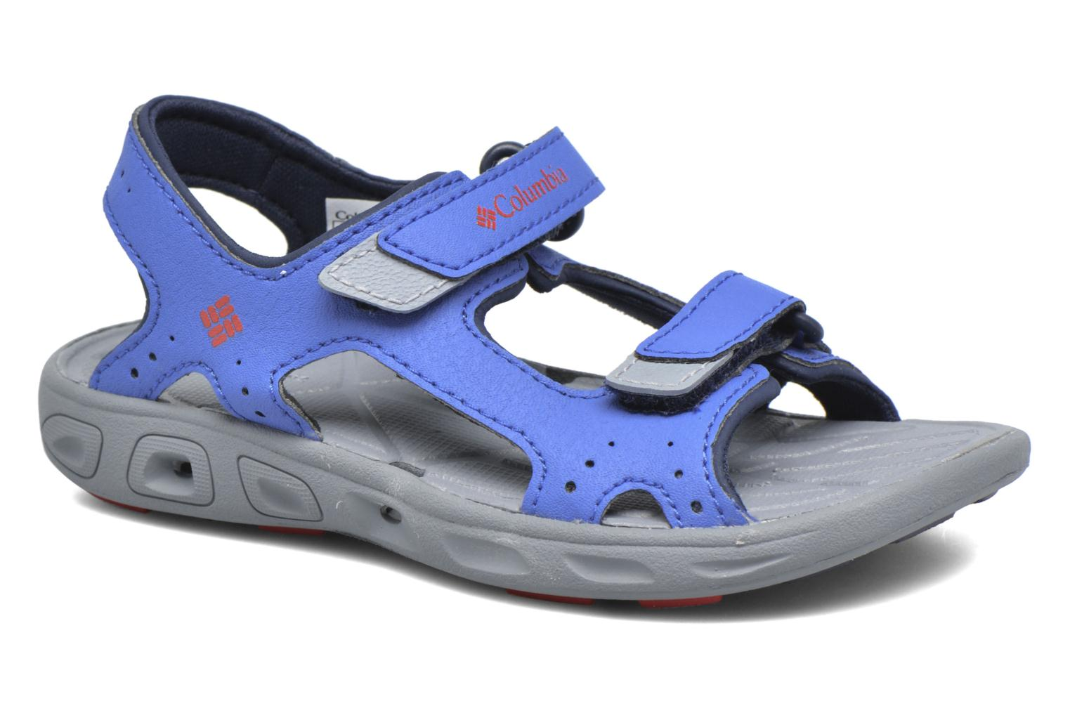 Sandals Columbia Childrens Techs Blue detailed view/ Pair view