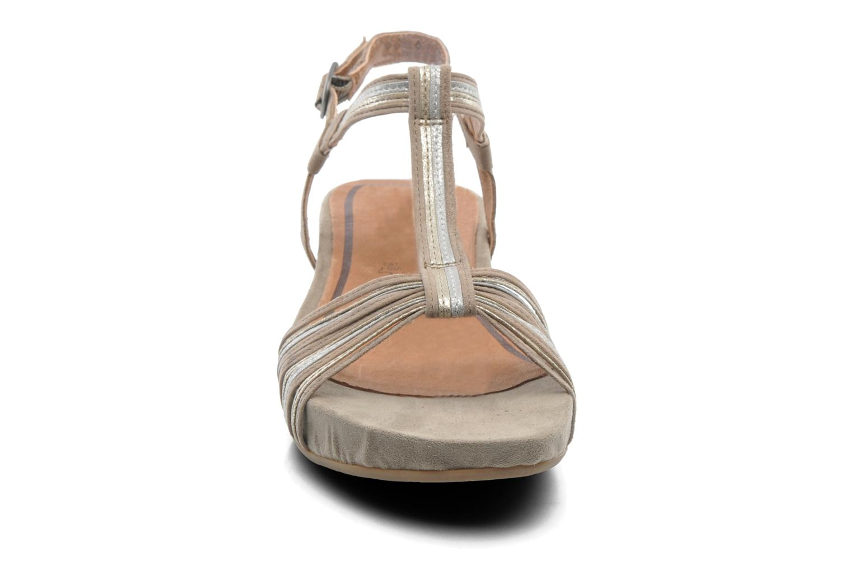 Sandalen Tamaris Khloé grau schuhe getragen