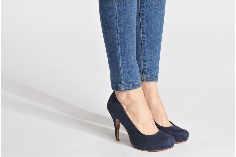 Zapatos de tacón Tamaris Romane Azul vista de abajo