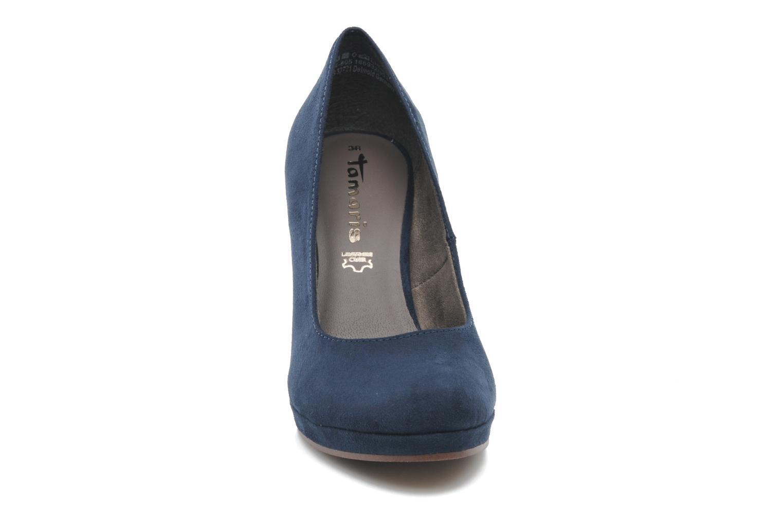 Zapatos de tacón Tamaris Romane Azul vista del modelo