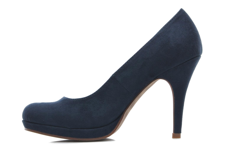 Zapatos de tacón Tamaris Romane Azul vista de frente